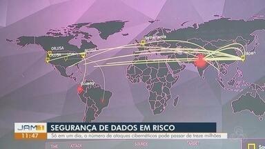 Segurança de dados em risco - Em apenas um dia, número de ataques cibernéticos pode passar de 13 milhões.