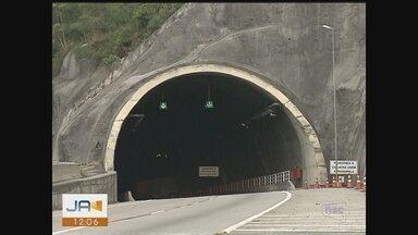 Túnel do Morro do Formigão, em Tubarão, será fechado por 90 dias, diz Dnit - Túnel do Morro do Formigão, em Tubarão, será fechado por 90 dias, diz Dnit