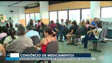 Acordo entre governadores do Nordeste deve facilitar aquisição de medicamentos - Acordo entre governadores do Nordeste deve facilitar aquisição de medicamentos
