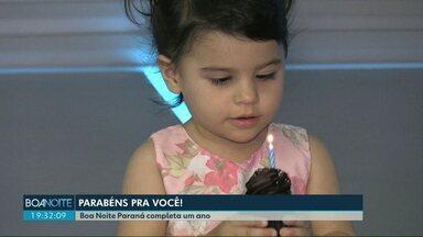 """Aniversário do """"Boa Noite Paraná"""" é comemorado com festa - O jornal completa um ano e é o preferido de Cascavel."""
