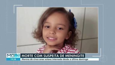 Criança morre com suspeita de meningite em Montes Claros - Corpo está sendo velado.