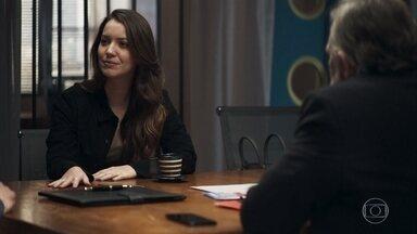 Fabiana exige que Agno e Otávio lhe comprem uma empresa - Os empresários estão dispostos a pagar qualquer preço para se livrarem da ex-noviça
