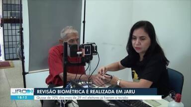 Prazo para revisão biométrica em Jaru encerra no dia 27 de setembro - Mais de 60% dos eleitores do município já fizeram a revisão