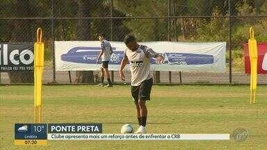 Ponte Preta apresenta mais uma contratação antes de enfrentar o CRB - Jogo acontece nesta quarta-feira (21) no Estádio Moisés Lucarelli, em Campinas.