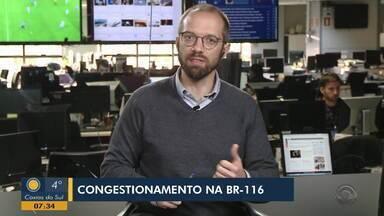 Scola fala sobre o congestionamento na BR-116 entre Porto Alegre e Região Metropolitana - Asista ao vídeo.