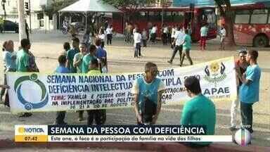 Semana da Pessoa com Deficiência é realizada em Montes Claros - Confira a programação.