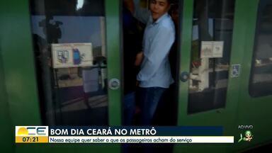 Bom Dia mostra os problemas de quem usa o metrô de Fortaleza - Saiba mais em g1.com.br/ce