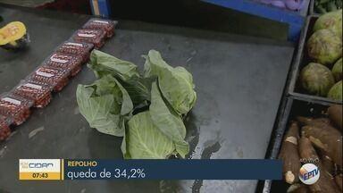Frutas e hortaliças têm queda nos preços; tomate caiu mais de 40% - Frutas e hortaliças têm queda nos preços; tomate caiu mais de 40%