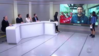 Confira destaques do esporte no Jornal do Almoço desta quarta (21) - Assista ao vídeo.