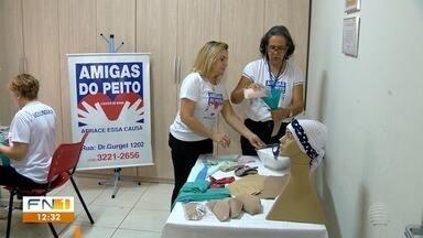 Grupo presta apoio a mulheres em tratamento de câncer de mama - Descoberta da doença e procedimentos são difíceis.