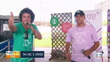 Festival Arte na Rua leva rap a terminal integrado no Recife - Festival é feito em parceria entre a TV Globo e o Grande Recife Consórcio de Transporte.