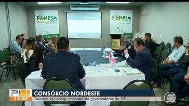 Teresina sedia encontro de governadores do Nordeste - Teresina sedia encontro de governadores do Nordeste