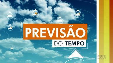 Temperatura máxima deve chegar aos 27º nesta quarta-feira (21) em Londrina - Não há previsão de chuva para os próximos dias. Nesta quinta-feira (22), a mínima prevista é de 13º.