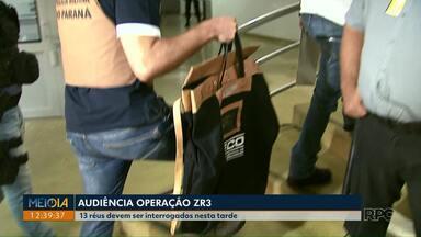 Reús da Operação ZR3 devem ser interrogados pela Justiça nesta quarta-feira (21) - Ao todo são 13 réus, dentre eles, dois vereadores, que são investigados por irregularidades no zoneamento urbano de Londrina.