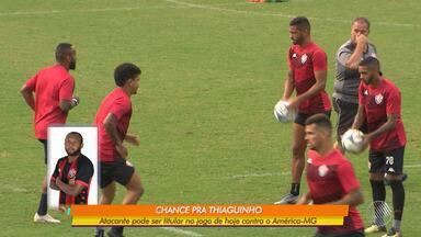 Vitória pode subir quatro posições em caso de triunfo sobre o América-MG no Barradão - Jogo acontece nesta quarta-feira, às 19h15.