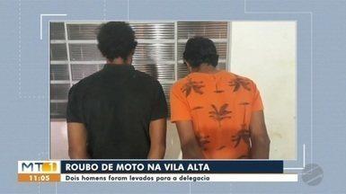 Dois homens são presos suspeitos de roubar veículos - Dois homens são presos suspeitos de roubar veículos