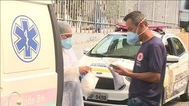 UPA em BH é isolada após receber paciente com sintomas de sarampo - Unidade reabriu no meio da tarde, após ser desinfetada e pessoas presentes, vacinadas. O avanço da doença leva Ministério de Saúde a recomendar dose extra da vacina em bebês.