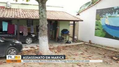 Vereador de Maricá e filho são assassinados dentro de casa - Mortes de Ismael Breve e Thiago Martins aconteceram nesta quarta-feira (21).