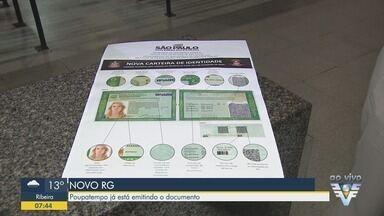 Poupatempo está emitindo o novo modelo de RG em São Paulo - Documento está sendo emitido pelo Estado.