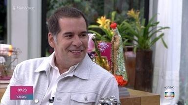 Ana Maria Braga recebe Leandro Hassum para o café da manhã - Ator lança a comédia 'O Amor dá Trabalho', em que interpreta um cupido