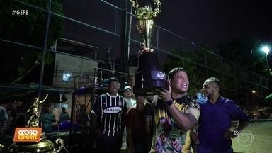 Festa na Copa dos MCs: em final, MC Sheldon vence DJ Raio e é o grande campeão - No Bueirão, na Torre, a torcida comandou as ações e o clima foi amistoso do início ao fim