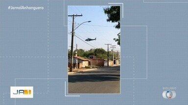 Três suspeitos morrem após ação policial em Aparecida de Goiânia - Perseguição foi feita por policiais da Rotam.