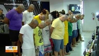 Ameaças contra policiais motivaram ação contra facção criminosa que prendeu 41 em Goiás - Segundo delegada, autoridades que atuam no combate à corrupção foram ameaçadas por criminosos.
