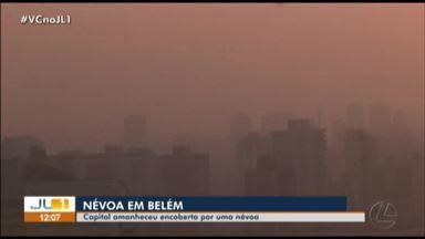 Belém amanhece encoberta por névoa nesta sexta, 23 - Belém amanhece encoberta por névoa nesta sexta, 23