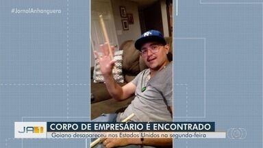 Empresário goiano que estava desaparecido nos EUA é encontrado morto - Corpo de Tiago Lopes de Passos foi encontrado no mar, em Nova Jersey.