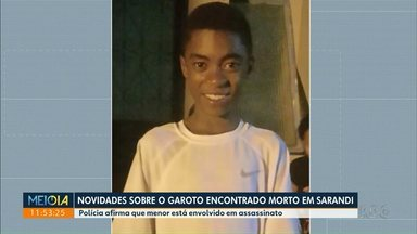 Polícia identifica suspeito de matar menino em Sarandi - Adolescente assumiu o crime