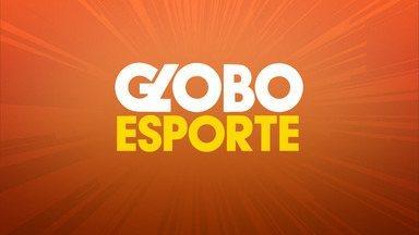 Confira o Globo Esporte desta sexta (23/08) - Programa fala sobre futebol, futsal e vôlei.