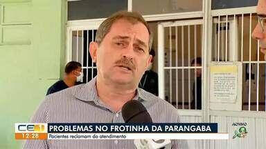 Pacientes reclamam de atendimento no Frotinha da Parangaba - Saiba mais em g1.com.br/ce