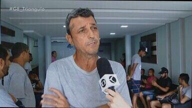 Jogadores do Araguari fazem exames médicos antes da inscrição na Segundona Mineira - Time corre contra o tempo para registrar os atletas restantes antes do jogo contra o Mamoré, neste sábado