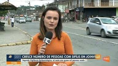 Cresce número de pessoas com sífilis em Joinville - Cresce número de pessoas com sífilis em Joinville