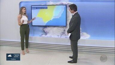 Veja a previsão do tempo para este fim de semana na região de Ribeirão Preto - Em cidades como Barretos, a expectativa é de temperaturas baixas.