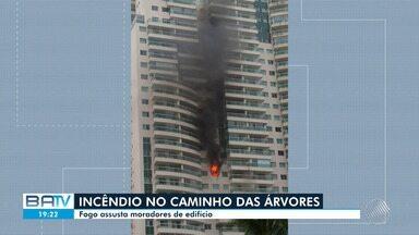 Destaques do Dia: Apartamento pega fogo no bairro de Caminho das Árvores, em Salvador - Confira este e outros destaques desta sexta-feira (23).