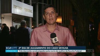 Caso Sevilha: víuva de auditor fiscal presta depoimento em audiência - Júri já dura quatro dias.