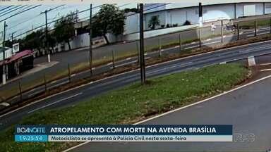 Motociclista que atropelou pedestre na avenida Brasília em Londrina se apresenta à polícia - Mulher de 47 anos morreu 10 dias depois de ser atropelada.