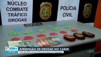 Mais de 500 comprimidos de ecstasy são apreendidos no Cariri - Confira mais notícias em g1.globo.com/ce