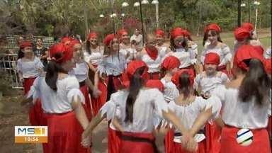 Festival de cultura reúne quase 4 mil alunos das escolas municipais da Capital - Apresentações reúnem dança, música e teatro
