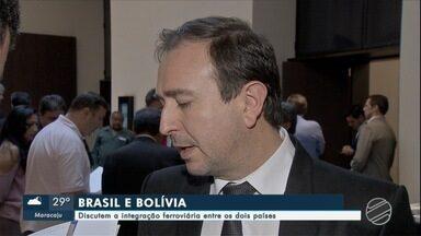 Brasil e Bolívia discutem a integração ferroviária entre os dois países - Nesta sexta-feira representantes dos governos brasileiro e boliviano se reuniram para discutir a integração ferroviária entre o país vizinho e Mato Grosso do Sul.