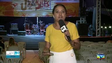 Lençóis Jazz e Blues iniciam programação em Barreirinhas - Ao vivo, a repórter Regina Souza dá mais informações.