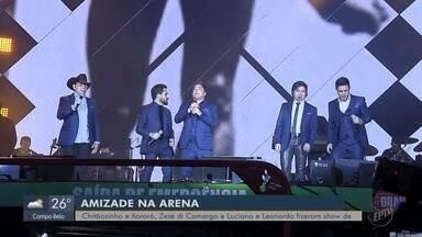 Chitãozinho e Xororó, Zezé Di Camargo e Luciano e Leonardo fazem show de 3 horas - undefined