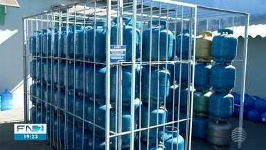 Queda no preço do botijão de gás reflete em economia para o consumidor - Redução foi de 8%.