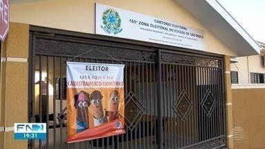 Cartório eleitoral realiza plantão neste fim de semana para cadastramento biométrico - Atendimento é voltado a moradores de Emilianópolis e Presidente Bernardes.