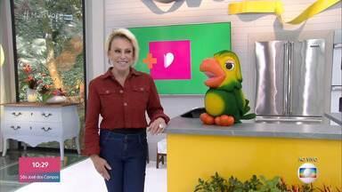 Programa de 28/08/2019 - O 'Mais Você' desta quarta-feira explica as bandeiras tarifárias na conta de luz e tira dúvidas sobre o saque do FGTS. Ana Maria Braga ensina a receita de uma deliciosa costelinha barbecue