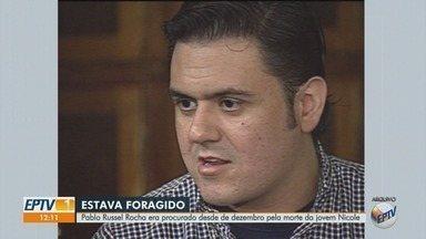 Empresário foragido condenado por matar garota de programa é preso em Taubaté, SP - Pablo Russel Rocha foi preso nesta terça-feira (27) em abordagem da Polícia Militar. Ele foi condenado a 25 anos de prisão.