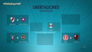 Grêmio é o primeiro brasileiro a garantir classificação na Libertadores - Assista ao vídeo.