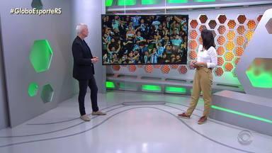 Maurício Saraiva comenta protagonismo de Everton e Alisson - Geromel se destaca na zaga gremista.