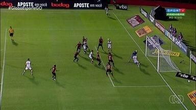 Atlético-GO empata por 1 a 1 com Sport e continua no G-4 da Série B - Dragão termina o primeiro turno do torneio na terceira colocação